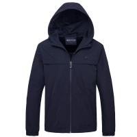 Armani Jackets Long Sleeved Zipper For Men #756956