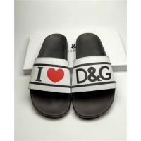 Dolce & Gabbana D&G Slippers For Men #760003