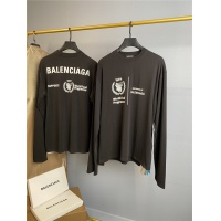 Balenciaga T-Shirts Long Sleeved O-Neck For Men #761357