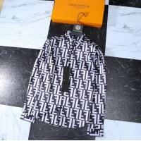 Fendi Shirts Long Sleeved Polo For Men #761466