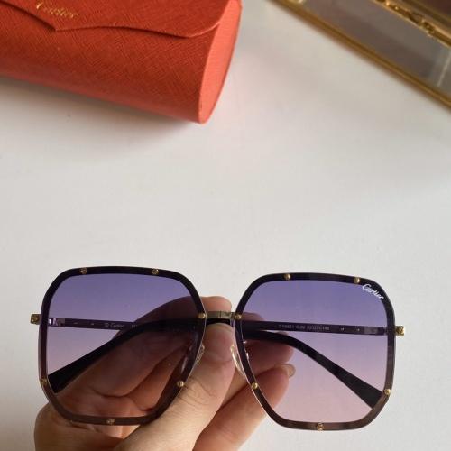 Cartier AAA Quality Sunglasses #768146