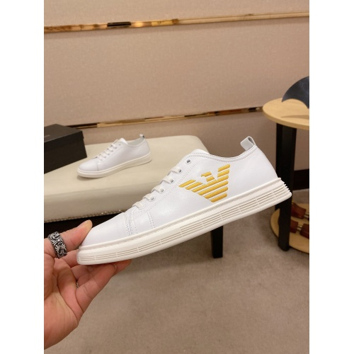 Cheap Armani Casual Shoes For Men #770093 Replica Wholesale [$69.84 USD] [W#770093] on Replica Armani Casual Shoes