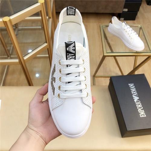 Cheap Armani Casual Shoes For Men #770154 Replica Wholesale [$69.84 USD] [W#770154] on Replica Armani Casual Shoes