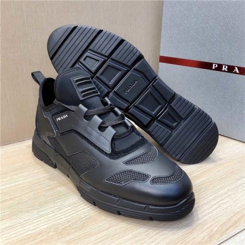 Cheap Prada Casual Shoes For Men #770169 Replica Wholesale [$101.85 USD] [W#770169] on Replica Prada Casual Shoes