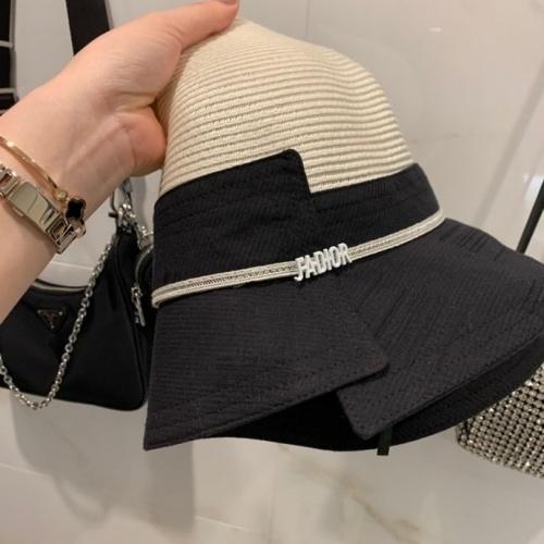 Cheap Christian Dior Caps #770187 Replica Wholesale [$39.77 USD] [W#770187] on Replica Christian Dior Caps