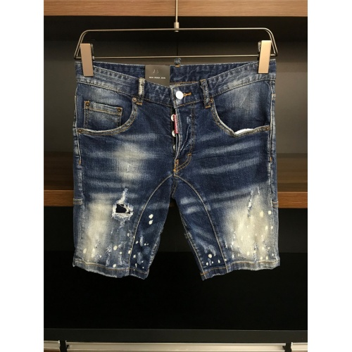 Cheap Dsquared Jeans Shorts For Men #770311 Replica Wholesale [$50.44 USD] [W#770311] on Replica Dsquared Jeans