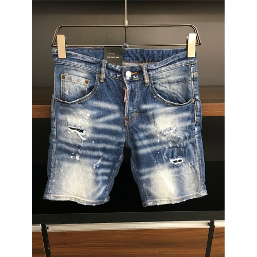 Cheap Dsquared Jeans Shorts For Men #770316 Replica Wholesale [$50.44 USD] [W#770316] on Replica Dsquared Jeans