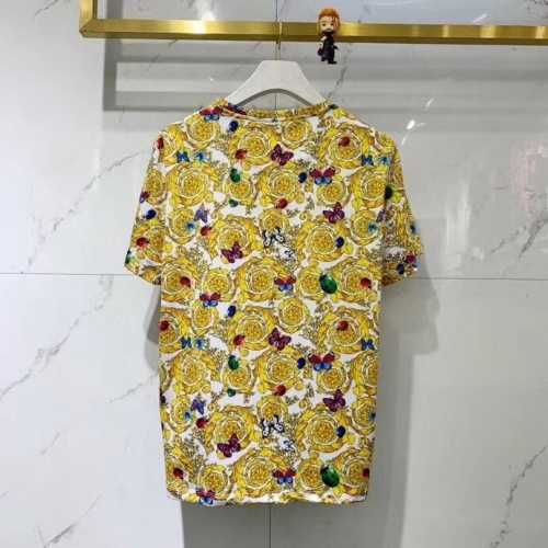 Cheap Versace T-Shirts Short Sleeved O-Neck For Men #770356 Replica Wholesale [$41.71 USD] [W#770356] on Replica Versace T-Shirts