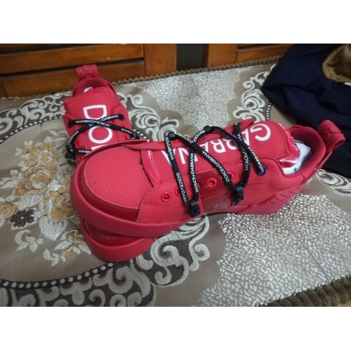 Cheap Dolce & Gabbana D&G Casual Shoes For Women #770435 Replica Wholesale [$89.24 USD] [W#770435] on Replica Dolce & Gabbana D&G Casual Shoes