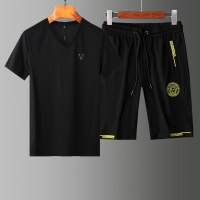 Versace Tracksuits Short Sleeved V-Neck For Men #765365