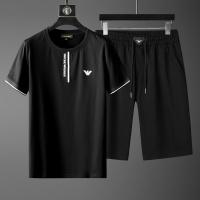 Armani Tracksuits Short Sleeved O-Neck For Men #770066