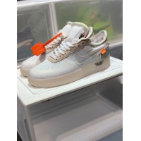 Nike Air Force 1 & OFF-WHITE For Men #770102