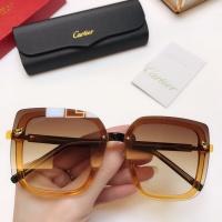 Cartier AAA Quality Sunglasses #771244