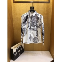 Versace Shirts Long Sleeved Polo For Men #772164