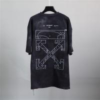 Off-White T-Shirts Short Sleeved O-Neck For Men #772638