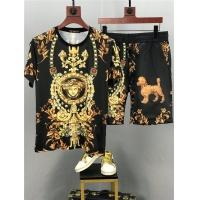 Versace Tracksuits Short Sleeved O-Neck For Men #772808
