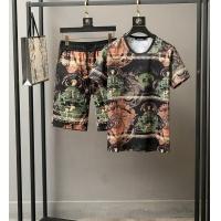 Versace Tracksuits Short Sleeved O-Neck For Men #772858