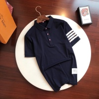 Thom Browne TB T-Shirts Short Sleeved Polo For Men #774390