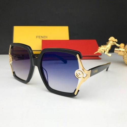 Fendi AAA Quality Sunglasses #776053