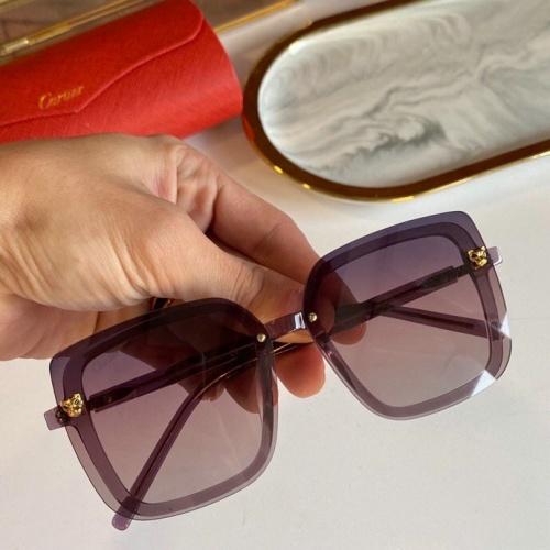 Cartier AAA Quality Sunglasses #776425