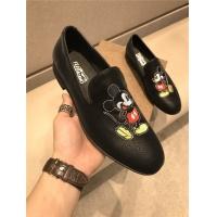 Ferragamo Salvatore FS Leather Shoes For Men #774944