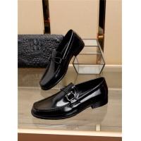 Ferragamo Salvatore FS Leather Shoes For Men #775118