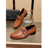 Ferragamo Salvatore FS Leather Shoes For Men #775119