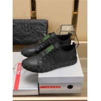Cheap Prada Casual Shoes For Men #776854 Replica Wholesale [$82.45 USD] [W#776854] on Replica Prada Casual Shoes