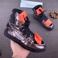 Off-White High Tops Shoes For Women #785531