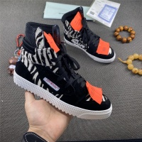 Off-White High Tops Shoes For Women #785539