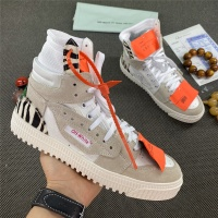 Off-White High Tops Shoes For Women #785540