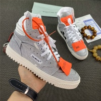 Off-White High Tops Shoes For Women #785547