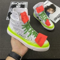 Off-White High Tops Shoes For Women #785552