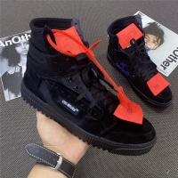 Off-White High Tops Shoes For Women #785556