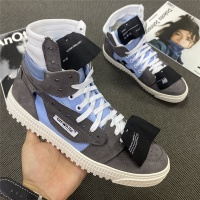 Off-White High Tops Shoes For Women #785562
