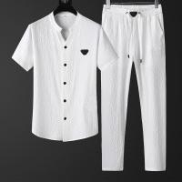 Armani Tracksuits Short Sleeved O-Neck For Men #786938