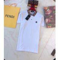 Fendi T-Shirts Short Sleeved Polo For Men #788076