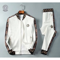 Versace Tracksuits Long Sleeved Zipper For Men #789408