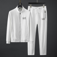 Armani Tracksuits Long Sleeved Zipper For Men #792010