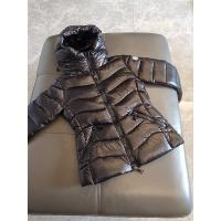 Moncler Down Feather Coat Long Sleeved Zipper For Women #793197