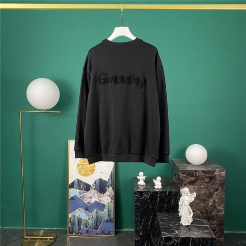 Cheap Givenchy Hoodies Long Sleeved O-Neck For Men #795751 Replica Wholesale [$42.68 USD] [W#795751] on Replica Givenchy Hoodies