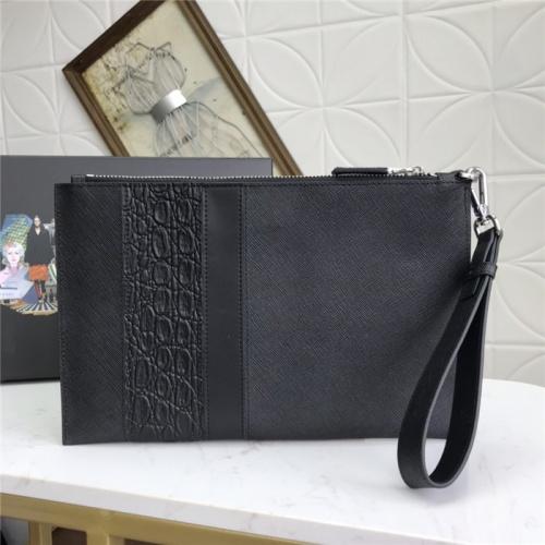Cheap Prada AAA Man Wallets #795832 Replica Wholesale [$75.66 USD] [W#795832] on Replica Prada AAA Man Wallets