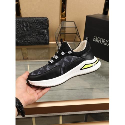 Cheap Armani Casual Shoes For Men #796675 Replica Wholesale [$79.54 USD] [W#796675] on Replica Armani Casual Shoes