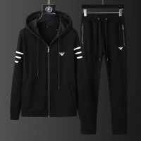 Armani Tracksuits Long Sleeved Zipper For Men #798814