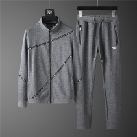 Armani Tracksuits Long Sleeved Zipper For Men #798818