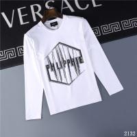 Philipp Plein PP T-Shirts Long Sleeved O-Neck For Men #799656