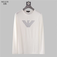 Armani T-Shirts Long Sleeved O-Neck For Men #799708