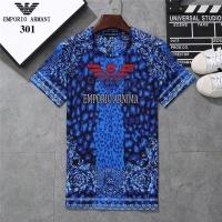 Armani T-Shirts Short Sleeved O-Neck For Men #801044