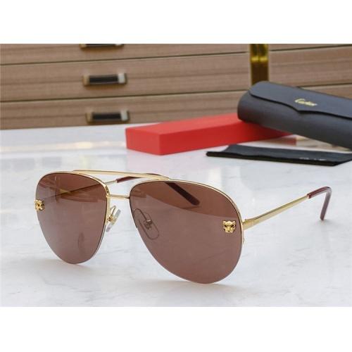 Cartier AAA Quality Sunglasses #805393