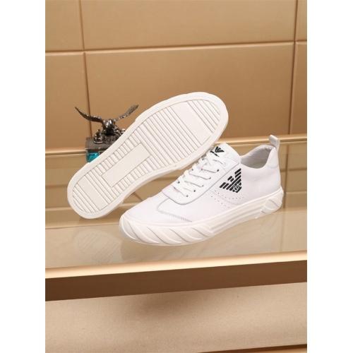 Cheap Armani Casual Shoes For Men #810191 Replica Wholesale [$76.00 USD] [W#810191] on Replica Armani Casual Shoes